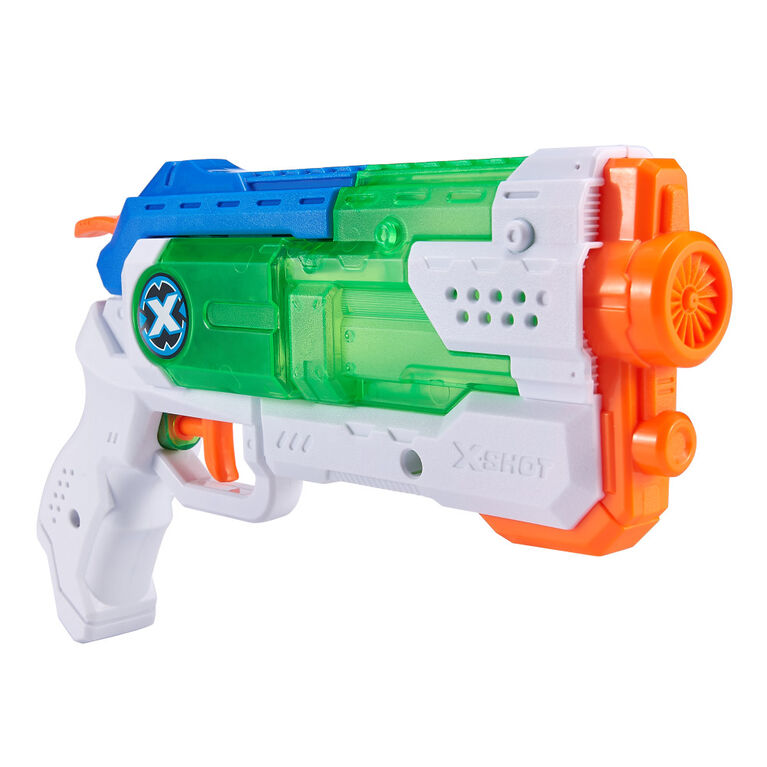 Pistolet à eau Micro à remplissage rapide X-Shot Guerre d'eau par ZURU