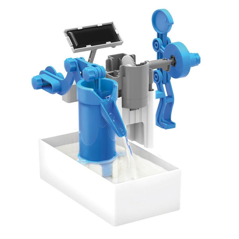 4M Hybrid Powered Water Pump - English Edition
