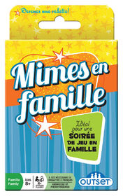 Family Charades Card Game - French Edition
