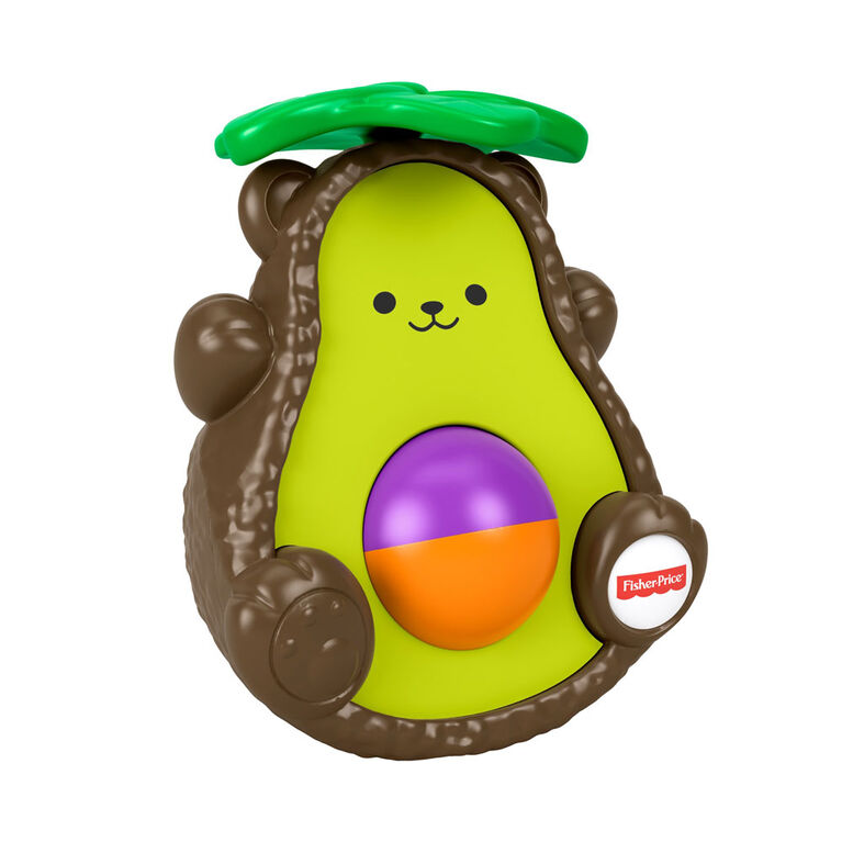 Fisher-Price Avocado Bat-at-Bear - English Edition