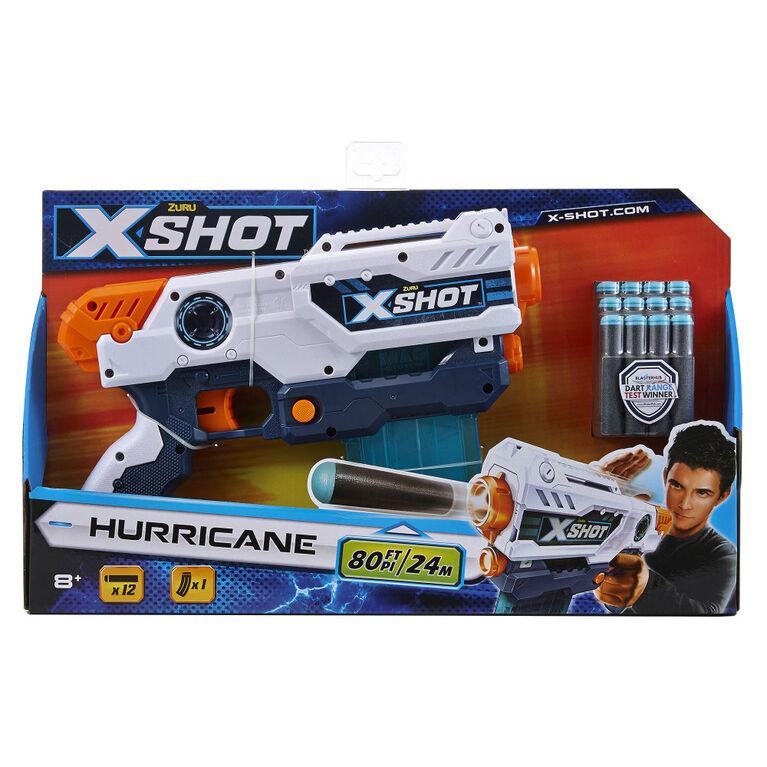X-Shot Excel Hurricane Clip Blaster Dart (10 Darts) by ZURU