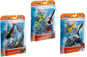 Matchbox Sky Busters 4 Pack Styles May Vary