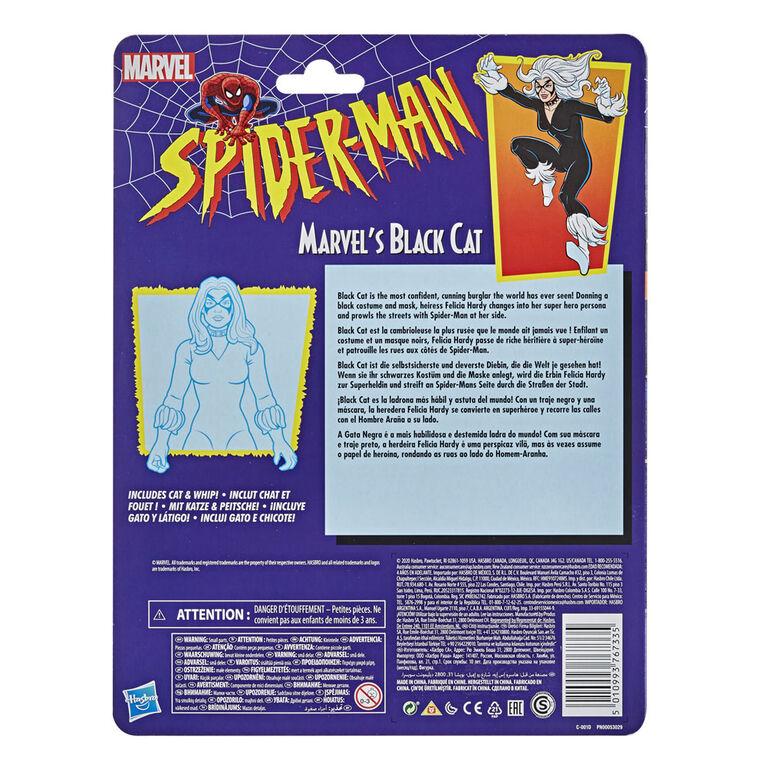 Figurine de collection rétro Marvel's Black Cat