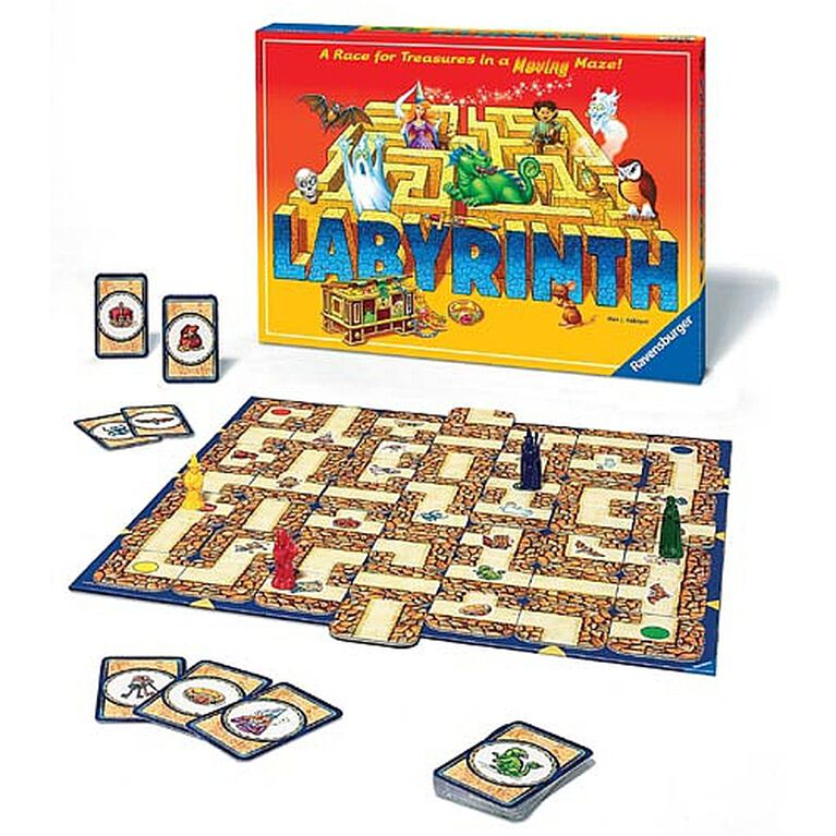 Labyrinth Strategy Game - English Edition