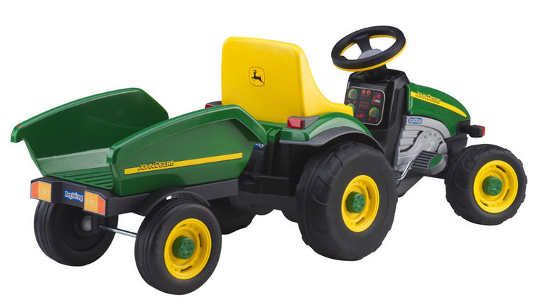 Peg Perego - John Deere - Farm Tractor with Trailer