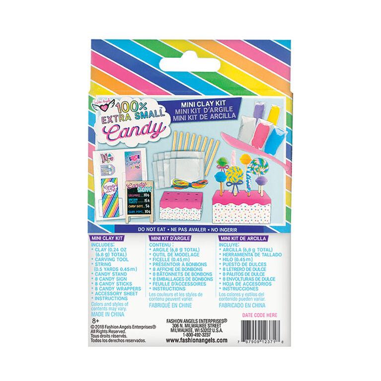 Fashion Angels - 100% Extra Small Candy Mini Clay Kit
