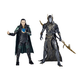 Marvel Legends Series Avengers: Infinity War Loki & Corvus Glaive 2-Pack - R Exclusive