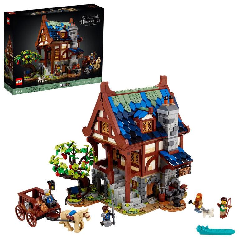 LEGO Ideas Le forgeron médiéval 21325