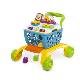 Bright Starts - Giggling Gourmet  4-in-1 Shop 'n Cook Walker
