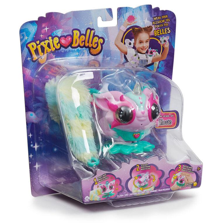 Pixie Belles - Rosie (rose) - Jouet animal interactif enchanté