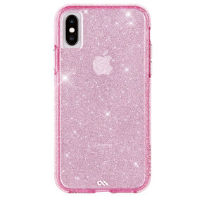 Case-Mate Crystal Case iPhone XS/X Blush