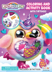 Colouring & Activity Book with Tattoos - English Edition