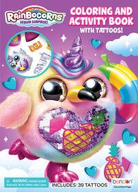 Livre d'activités et de coloriage avec tatouages - Édition anglaise