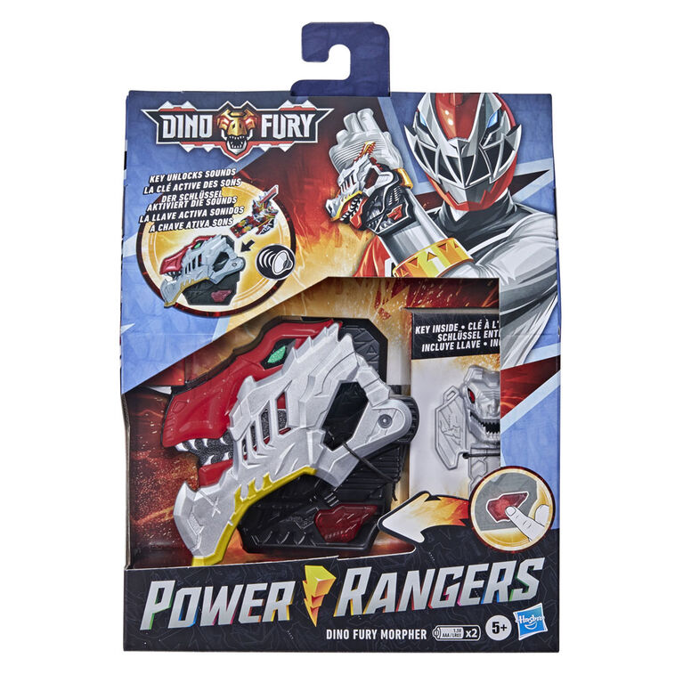 Power Rangers Dino Fury Morpher Electronic Toy with Lights and Sounds