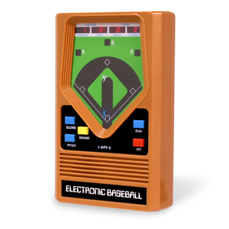 Mattel Classic Baseball Electronic Game
