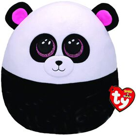 Ty Squish Bamboo Black And White Panda 14 inch