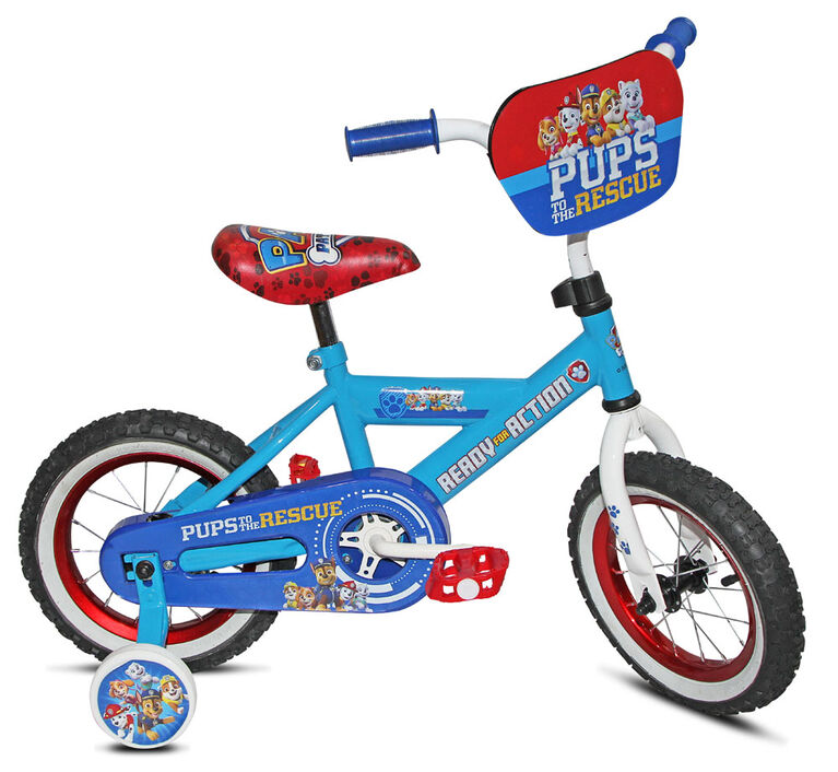 Stoneridge Cycle Paw Patrol with Face Plate - 12 inch Bike