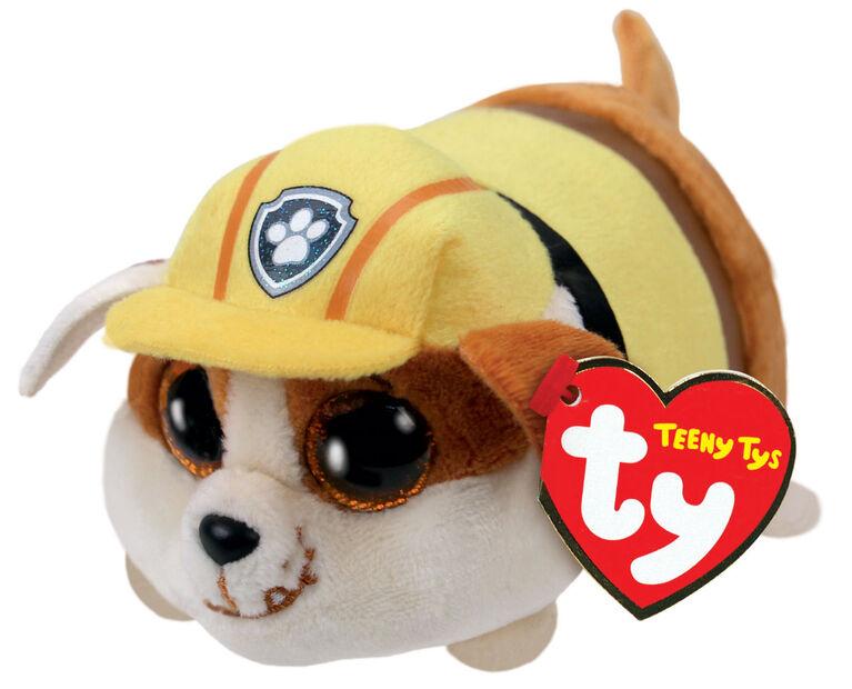Teeny Tys Paw Patrol Rubble Bull Dog