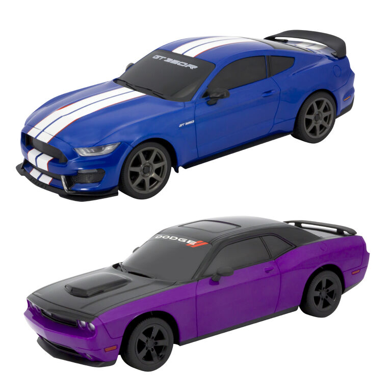 Fast Lane RC - 1:16 RC Muscle Car - Dodge Challenger