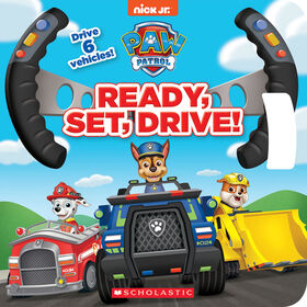 Scholastic - Paw Patrol: Ready, Set, Drive! - English Edition