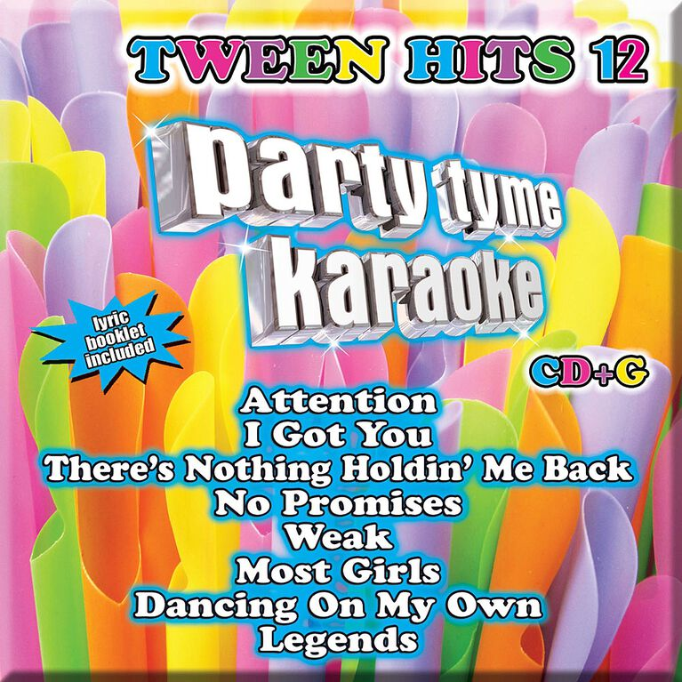 CD-Karaoke Tween Hits 12