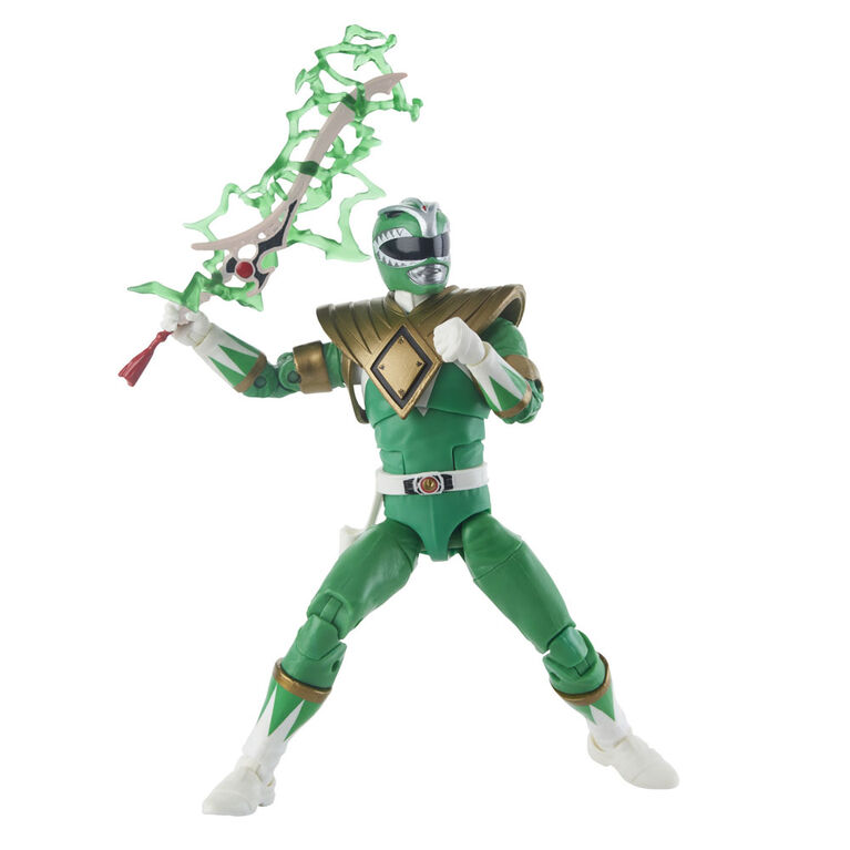 Power Rangers Lightning Collection - Ranger vert Fighting Spirit et Putty Mighty Morphin - R Exclusif