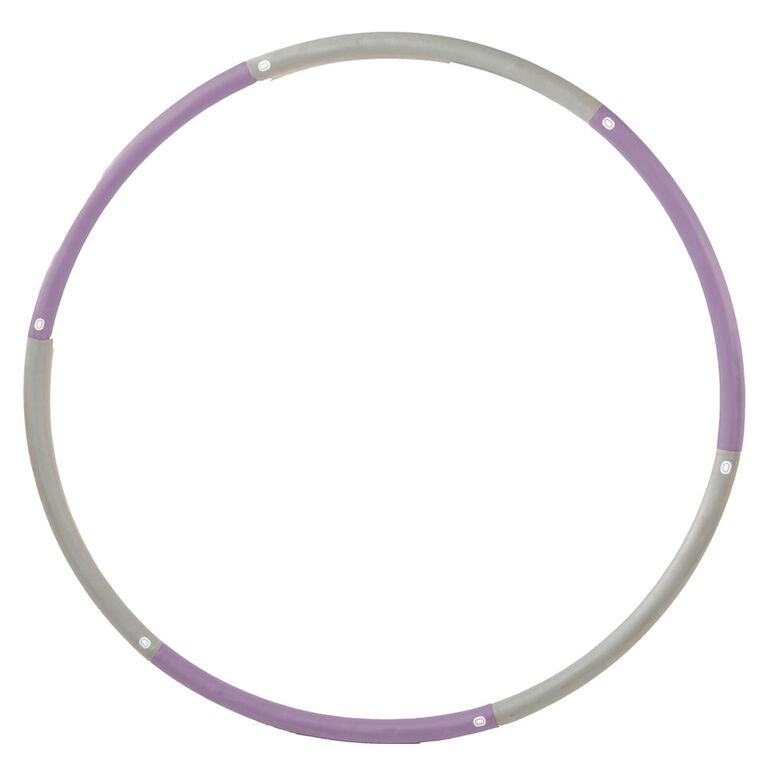Stamina Products, 25 lb Fitness Hoop, Purple/Cream