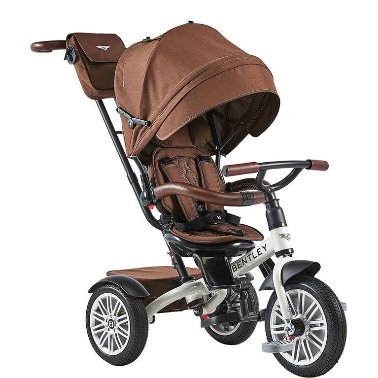 Bentley 6In1 Stroller / Trike White Satin