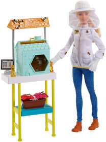 Barbie Beekeeper Playset - Blonde Hair