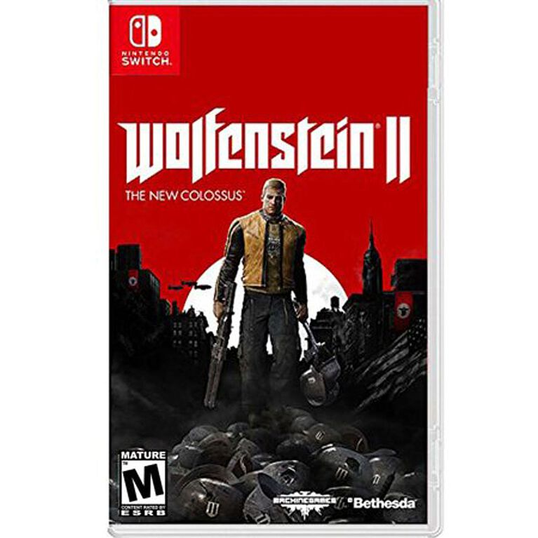 Nintendo Switch - Wolfenstein II: The New Colossus