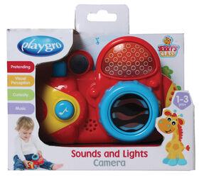 Playgro - Caméra Son et Lumières