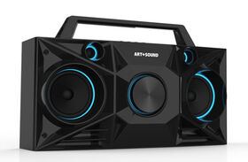 Art+Sound Streetbeat Wireless Bluetooth Speaker Boombox