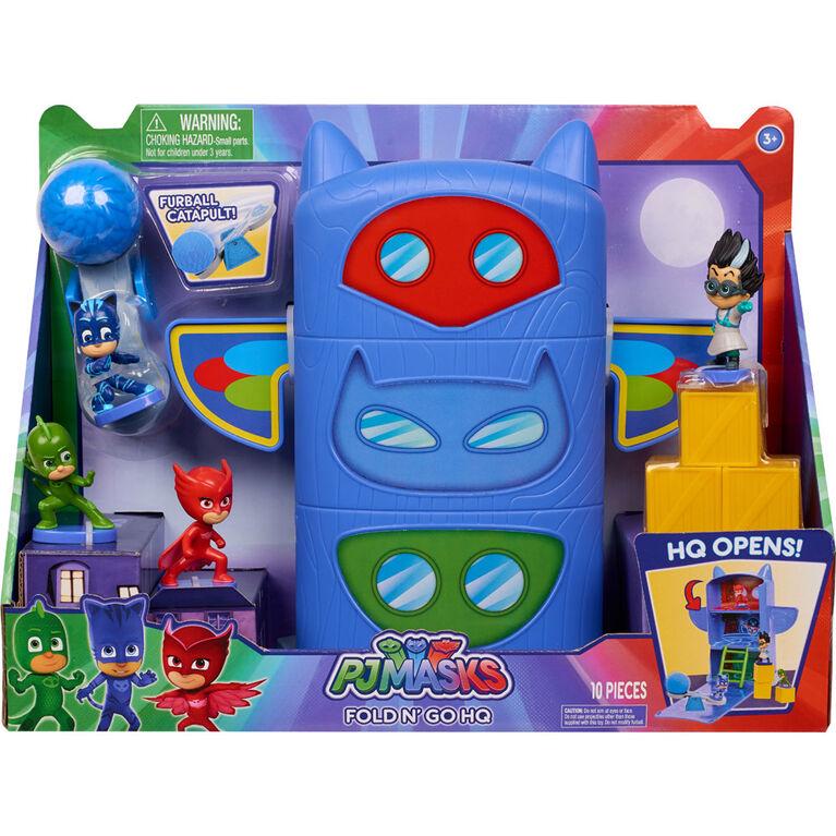 PJ Masks Fold N Go Headquarters