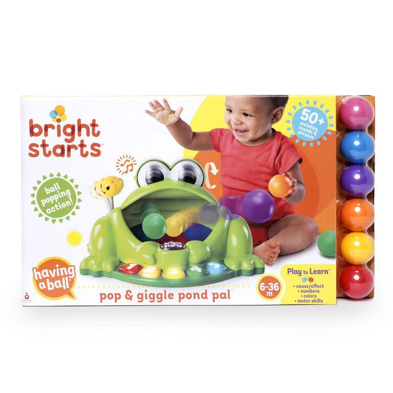 Bright Starts - Having a Ball - Pop & Giggle Pond Pal