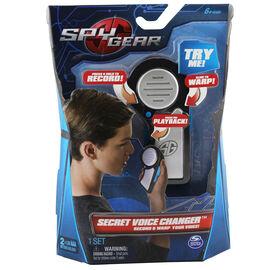 Spy Gear - Changeur de voix secret