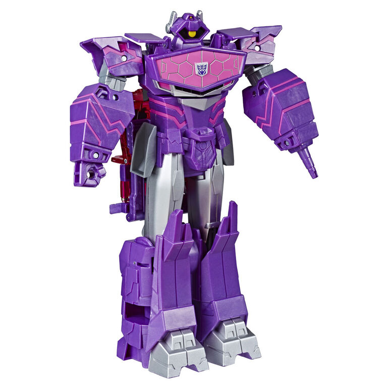 Transformers Toys Cyberverse Ultimate Class Shockwave Action Figure