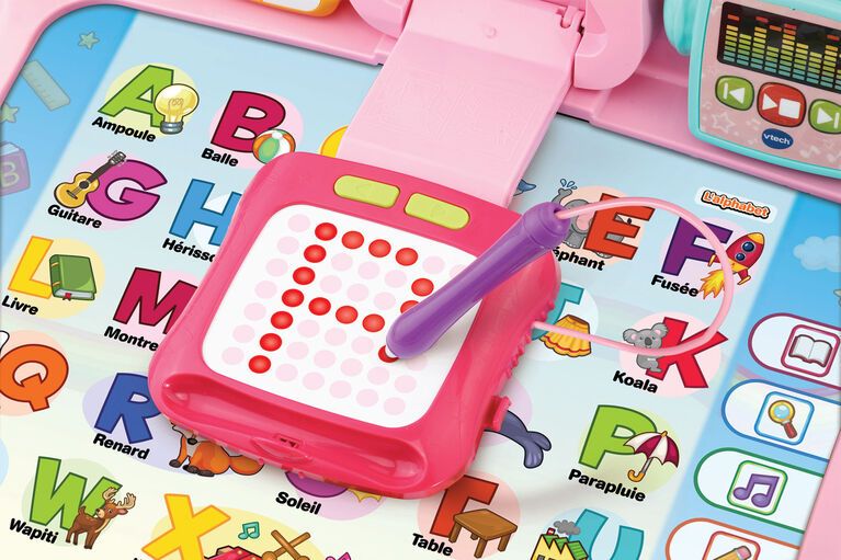 Vtech Explore And Write Activity Desk Pink Exclusive French Edition