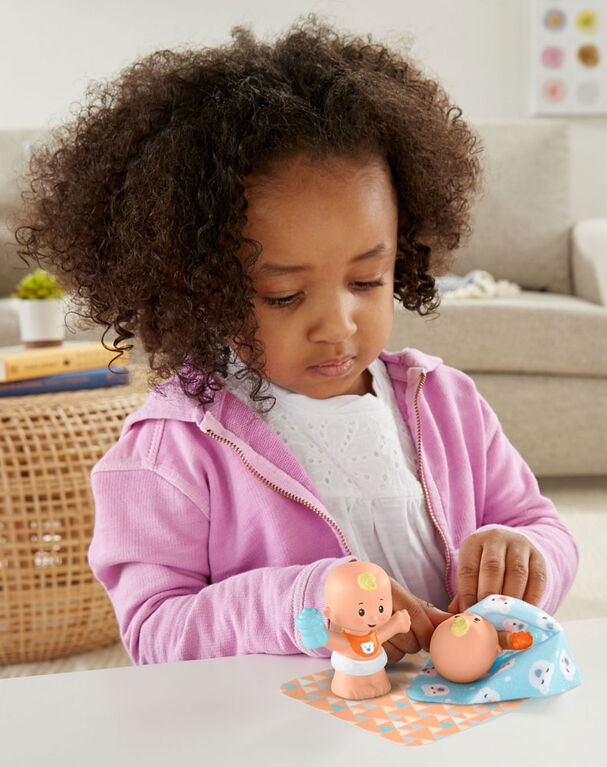 Fisher-Price Little People Babies Snuggle Twins