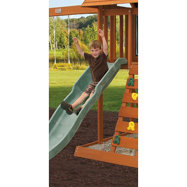 KidKraft Sandy Cove Wooden Swing Set