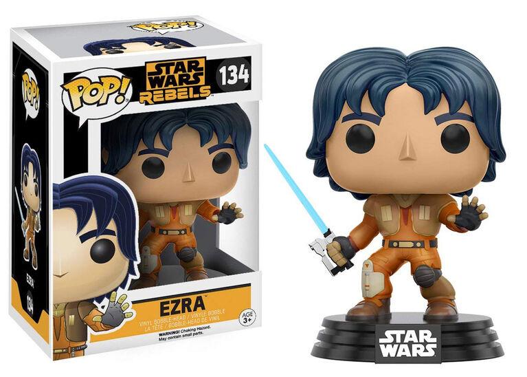 Funko POP! Animations: Star Wars Rebels - Ezra Vinyl Figure