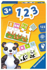 """Ravensburger! """"1,2,3"""" Game - French Edition"""