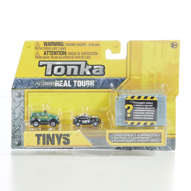 Tonka Tiny's 3 Pack.