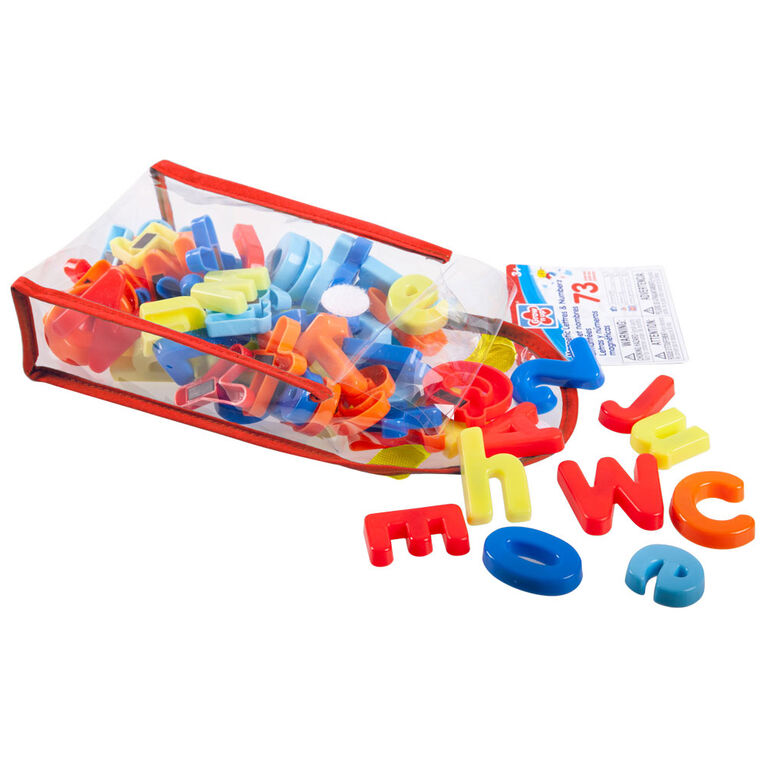 Grow'n Up 73 pcs Magnetic letters, numbers & signs