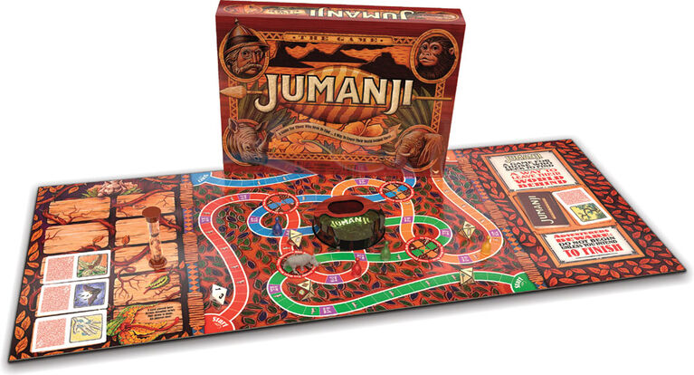 Jumanji Classic Retro '90s Board Game - English Edition