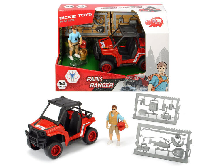 Playlife - Garde forestier - Dickie Toys.