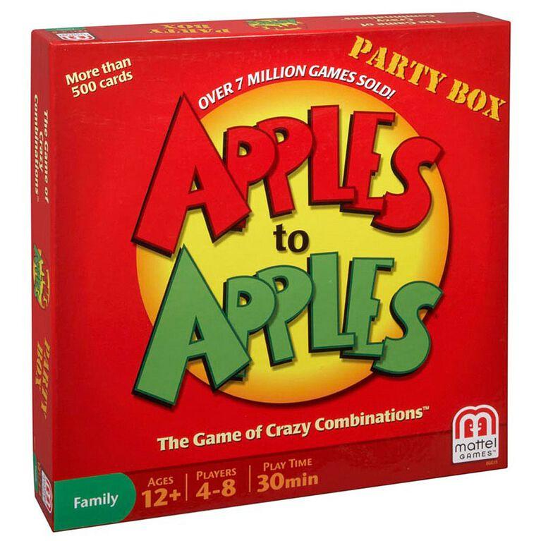 Coffret De Jeu Apples To Apples - Version Anglaise - les motifs peuvent varier