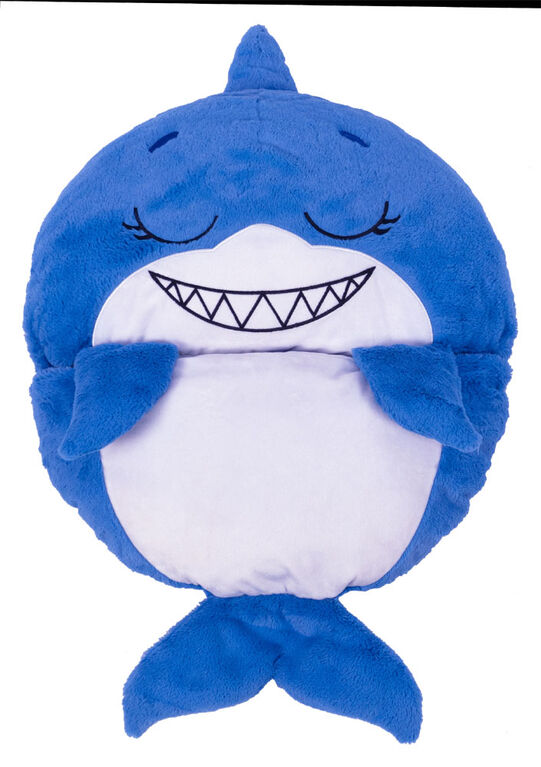 """Happy Nappers 20"""" Blue Shark"""
