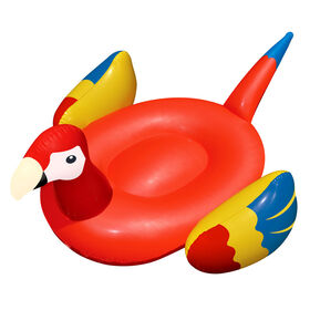 """Giant Parrot 93"""" Inflatable Ride On Toy"""