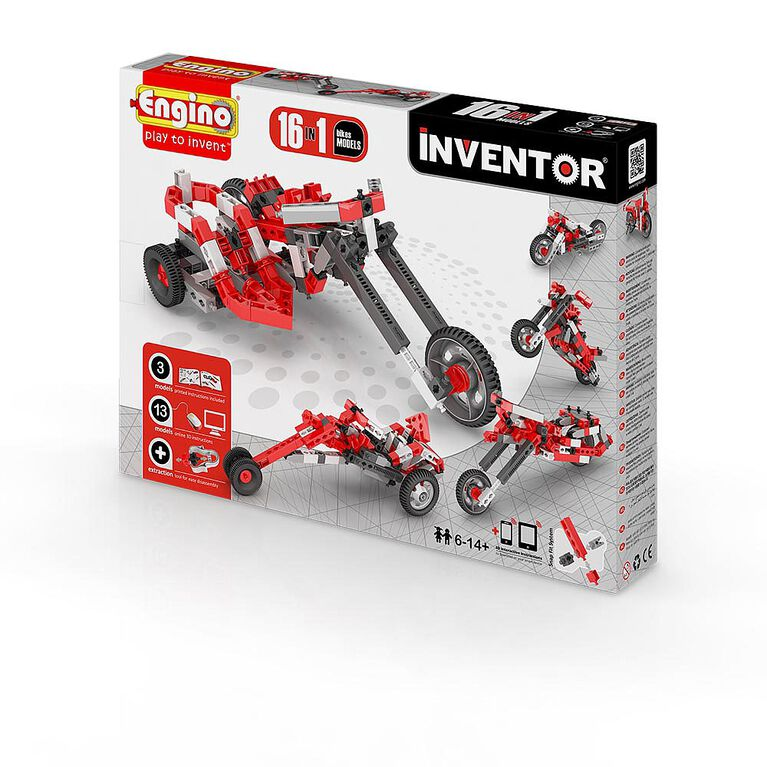 Engino - Inventor 16 Models Motorbikes