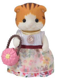 Calico Critters Serie Fille de Ville - Maple Cat